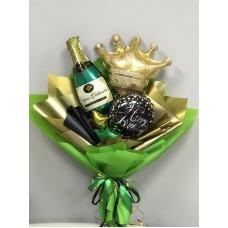 Букет из шаров Брызги шампанского