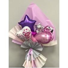 Букет из шаров BABY Girl