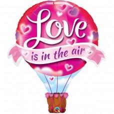 """Фольгированный шар """"Воздушный шар любовь"""""""