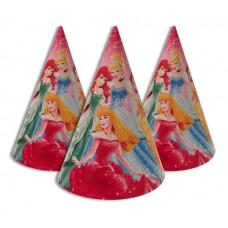 Колпачки праздничные 6 принцесс