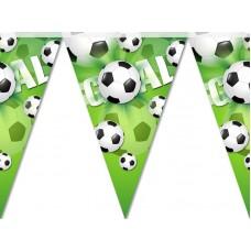 Гирлянда бумажная праздничная Футбол
