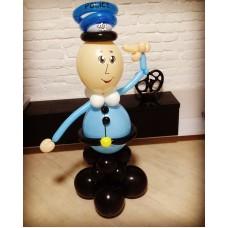 Полицейский из шаров